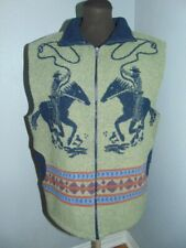 Wooded River Clothing Co. Wool Blend Vest Equestrian Horse Rider Women's M