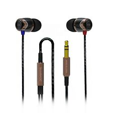 SoundMAGIC E10 In Ear Isolating Earphones - Black- & Gold - NEW