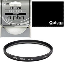 HOYA 77mm HD ALPHA MC UV FILTER FOR Nikon Coolpix P1000 + MICROFIBER CLOTH