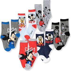 Disney Mickey Mouse Original Garçons Garçon Ras Baskets Standard Chaussettes