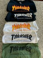 Authentic THRASHER Skateboard Magazine T-Shirts (Men's US Size XL) ~ PRE-OWNED