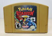 Pokemon Stadium 2 - Nintendo 64, 2001 - Tested, Working & Authentic