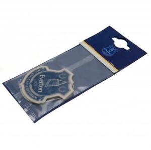 Everton Football Club Single Car Air Freshener Freshner Official EPL EFC Toffees