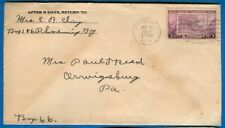 Stamp #783, 3 Cent Oregon Territory On Cover, Phoenix, NY 1937