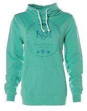 J2329 KangaROOS Kapuzensweatshirt Sweatshirt hoher Kragen Kapuze 40/42 Mint