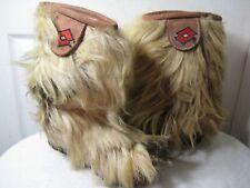 LOTTO Skywalk Winter Goat Fur Apres Ski Boots Women's Shoes Size 7