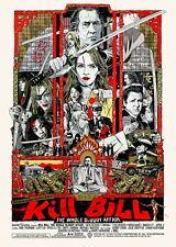 Kill Bill Art Movie Poster Print Art Gift for Friend Family - No Frame