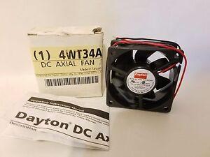 Dayton Electric 4WT34A Square DC Axial Fan NEW