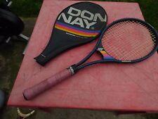raquette de tennis vintage Donnay Mid 725 avec housse