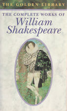 WILLIAM SHAKESPEARE Complete Works 1142 Pages **GOOD COPY**