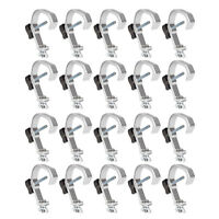 Lighting Truss Light Clamp Global C Clamp Heavy Duty Alloy 30-51mm Pipe 20 Pack