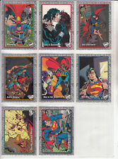 Superman-The Return of Superman-1993-Trading Cards [Lot 1]-8 Cards