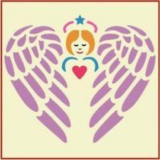 GUARDIAN ANGEL STENCIL  - NURSERY - The Artful Stencil