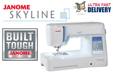 Janome Skyline S5 Computerized Sewing + Quilting Machine | Brand NEW