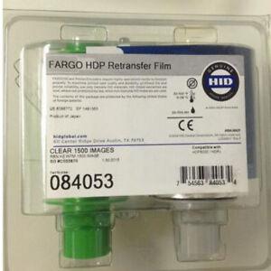 Ribbon Transfer Film 84053 For Fargo HDP5000 Printer 1500 prints Genuine