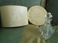 Lenox Pave Jewels Lead Crystal Triangle Perfume Bottle New 1999 original Box