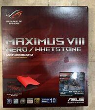 ASUS ROG MAXIMUS VIII HERO/Whetstone LGA1151 DDR4 DP HDMI M.2 U.2 USB