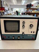 Vtg Heathkit Oscilloscope Io 4560 Blue Case Not Tested