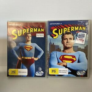 DVD The Adventures of Superman: The Complete First And Second Season 1 & 2