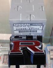 NISSAN GENUINE OEM SKYLINE R33 GTR GT-R FRONT GRILL EMBLEM ☆ 62896-24U00 ☆
