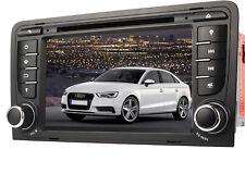 "7"" Car DVD CD Player GPS Sat Nav Touchscreen Radio 3G USB SD BT DVB for Audi A3"