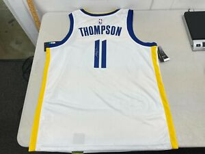 Klay Thompson Signed Golden State Warriors Jersey - XL