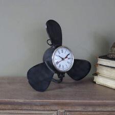 Orologi da tavolo nero in vetro 12 ore