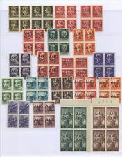 OCCUPAZIONI VENEZIA GIULIA 1945/7 SOVR. 31V. X4 LX **