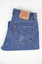 Mens Vintage LEVIS 501 Denim Jeans W32 L34 Regular Straight Leg Blue