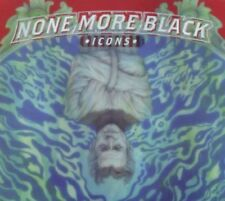 None More Black - Icons [New & Sealed] Digipack CD