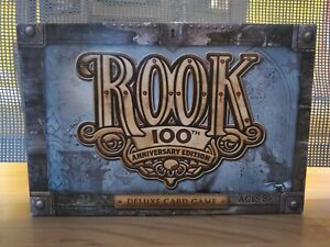 Rook 100th Anniversary Edition Deluxe Card Game Hasbro 2006 Complete. FREE SHIP!
