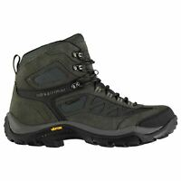 Mens Karrimor Aspen Mid Walking Boots Lace Up Waterproof New