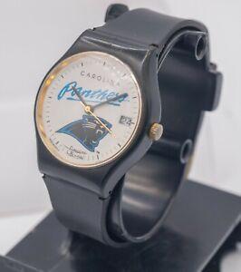 1993 - Bulova Sportstime - Carolina Panthers NFL - Men's Wrist Watch - Parts