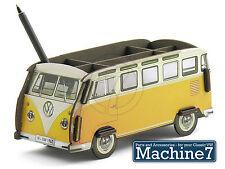 Classico VW Desk Tidy Storage Box PENNA PORTAPENNE Split Bus Giallo Samba Van t1