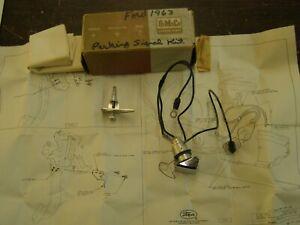 NOS OEM Ford 1963 1964 Galaxie Park Brake Warning Light Lamp Signal Kit 500 XL