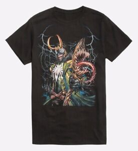 Marvel Comics Maximum Venom Venomized Loki Tee Shirt New