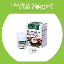 Bio Yogurt Starter Culture by GENESIS LABORATORIES  - 10 caps. up to 20 l