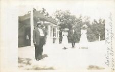 Springfield MO How the Other Half Lives~2 Women, 2 Men~Doling Park RPPC 1911