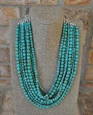 Premier Designs Acapulco Statement Necklace Nine Strand NIB Goes with everything