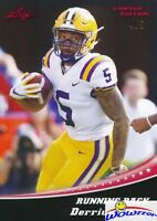 Derrius Guice 2018 Leaf Draft #2 Limited RED PARALLEL FIRST EVER ROOKIE #/5