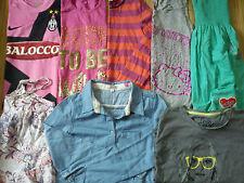 NICE BRANDS 18x NIKE NEW LOOK GAP DEBENHAMS BUNDLE GIRL CLOTHES 8/10 YRS(3.2