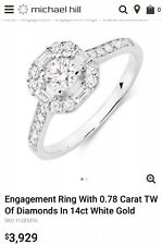 Michael Hill Diamond Engagement Ring
