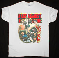 Vtg 1997 Rage Against The Machine Wu-Tang Clan Hip Hop 90s T-Shirt Made USA