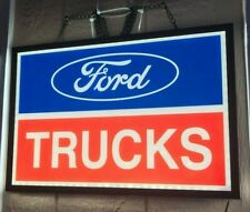 FORD TRUCKS SLIM LINE LED SIGN *GAS & OIL