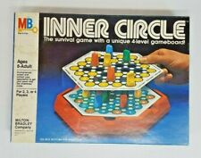 Vtg 1981 Milton Bradley INNER CIRCLE Survival Game w 4-Level Gameboard COMPLETE