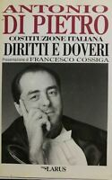 COSTITUZIONE ITALIANA DIRITTI E DOVERI A. DI PIETRO