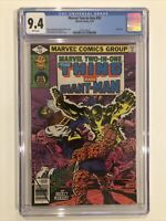 Marvel Two-In-One #55 CGC 9.4 John Byrne 1979 Fantastic Four