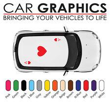 Mini cooper car graphics cards ace decals stickers vinyl design mn30