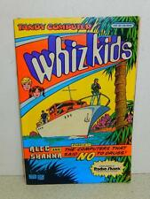 VINTAGE COMIC- WHIZ KIDS- THE COMPUTERS THAT SAID NO TO DRUGS- 1985- GOOD- L8