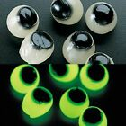 24 Glow In The Dark Sticky Eyes Halloween Haunted House Decor - SPOOKY SCARY